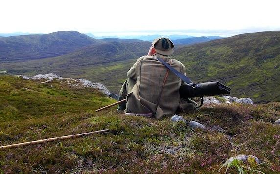 Spying, East Loch Ericht